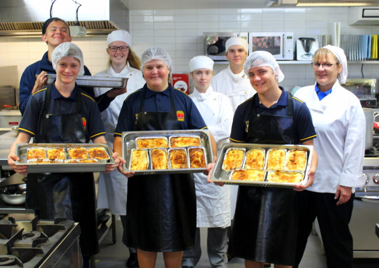 Singleton Boys Cook For Local Community