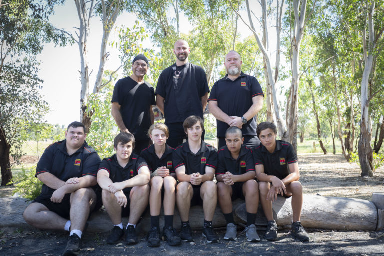 Boys Mentored By Celebrity Chef During NAIDOC Week